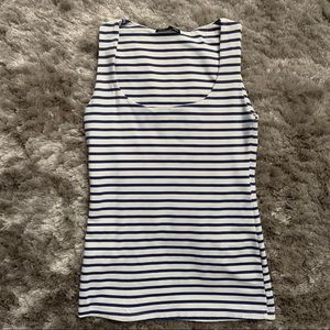 Zara Basic Stripped Top